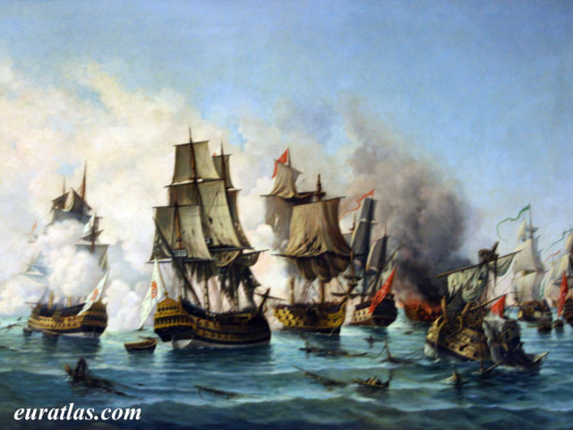 Click to download the The Battle of Matapan, 19 July 1717