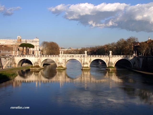 Click to download the Ponte Sant'Angelo or Aelian Bridge, 139 AD