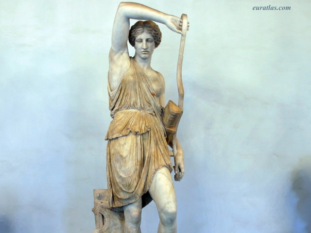 Click to download the The Wounded Amazon, copy of a Greek original by Phidias