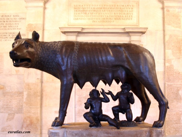 Click to download the The Capitoline Wolf or Lupa Capitolina