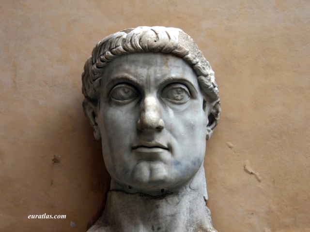Click to download the Head of Emperor Constantine, Capitoline Museums