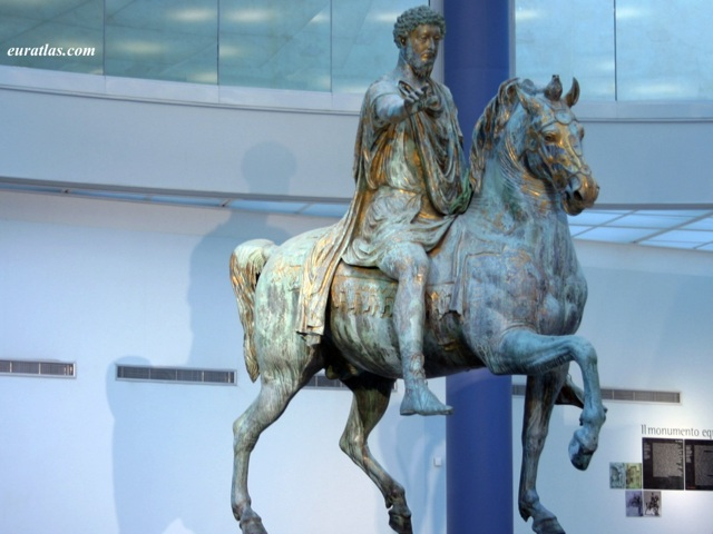 Click to download the Equestrian Statue of Marcus Aurelius, Capitoline Museums