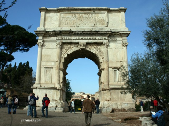 Click to download the The Arch of Titus on the Roman Forum