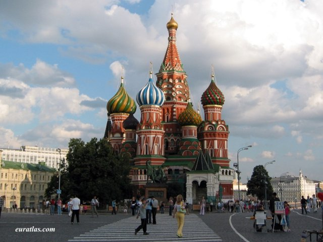 Click to download the Saint Basil's Cathedral in Moscow