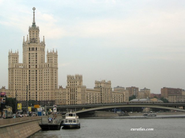 Click to download the Moscow, A Stalinian Style Building
