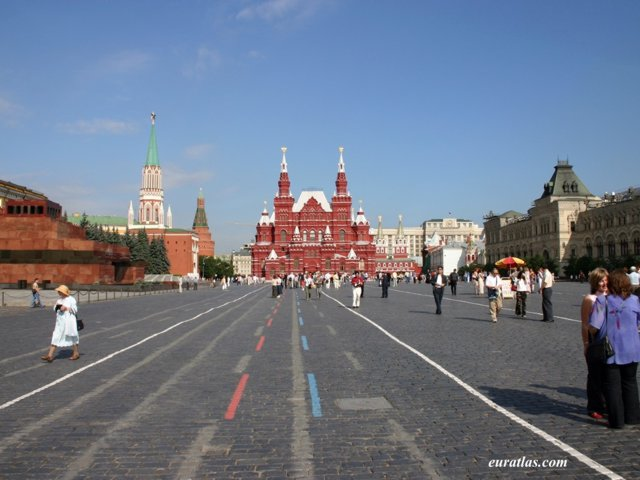 Click to download the Moscow, the Red Square