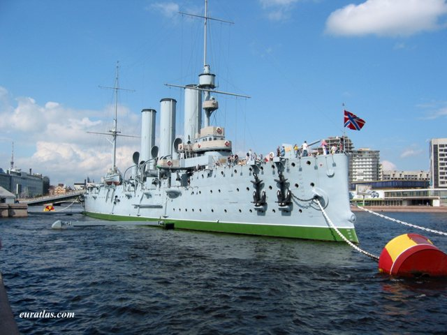 Click to download the Saint Petersburg, the Cruiser Aurora