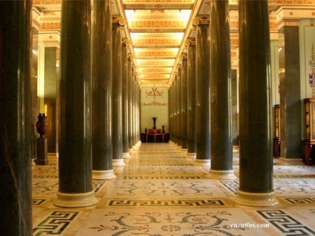Click to download the Saint Petersburg, a Hall in the Hermitage Museum