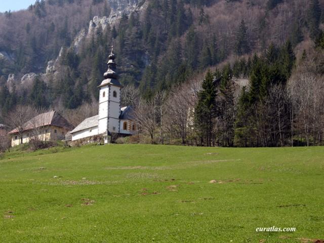 Click to download the Saint Anna Church at Ljubelj or Loibl