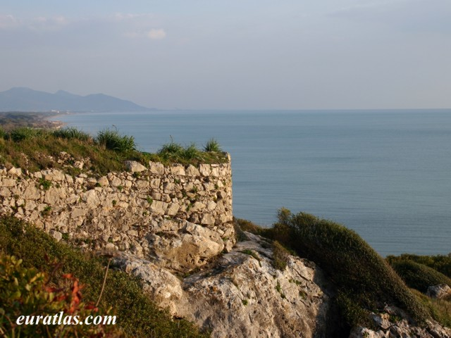 Click to download the The Monte d'Argento near the Garigliano Mouth