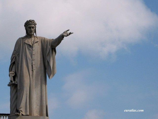 Click to download the Dante's Statue in Naples