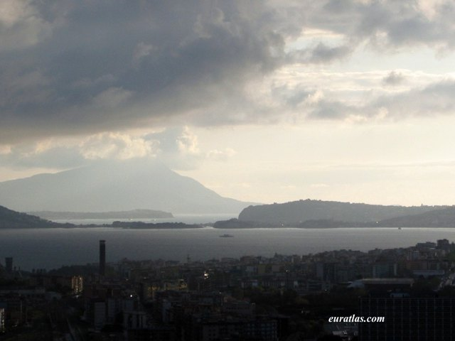 Click to download the Evening Storm on Pozzuoli with Ischia and Procida