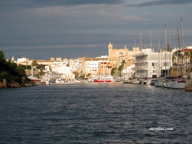 Click to download the Minorca, Outskirts of the Port of Ciutadella