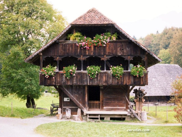 Click to download the A Barn of the Bernese Oberland