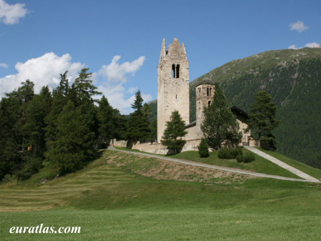 Click to download the San Gian Church, near Celerina, Graubünden