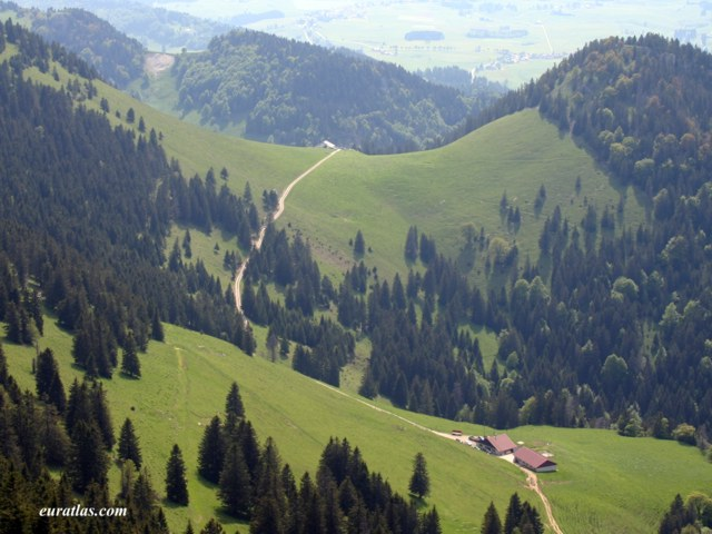 Click to download the A Landscape from the Chasseron