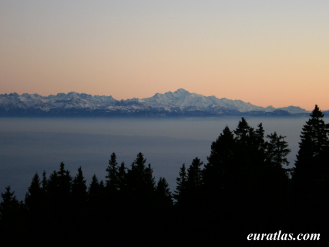 Click to download the The Mont Blanc at Dusk