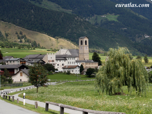 Click to download the Benedictine Convent of Saint John at Müstair