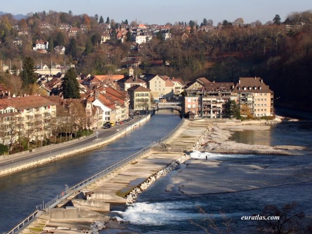 Click to download the The Aar River in Bern