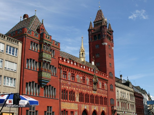 Click to download the Basel Town's hall