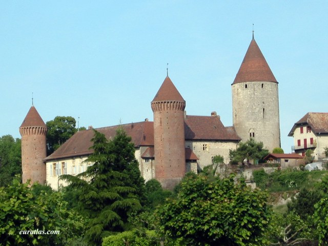 Click to download the The Castle of Estavayer, Canton of Fribourg