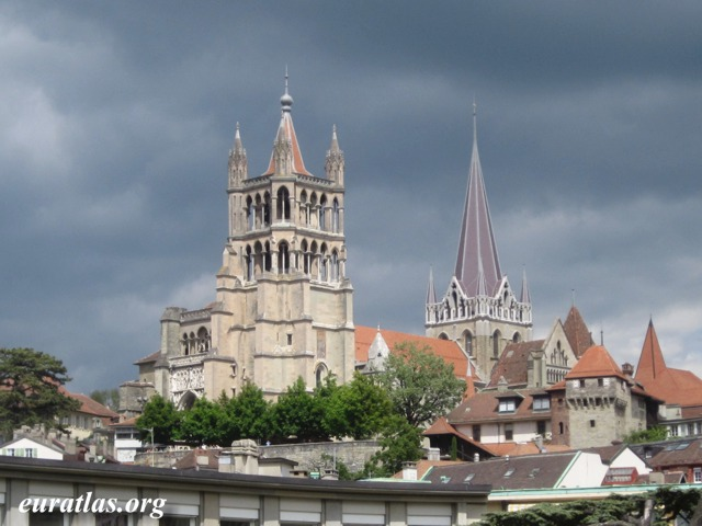 Click to download the The Cathedral of Lausanne