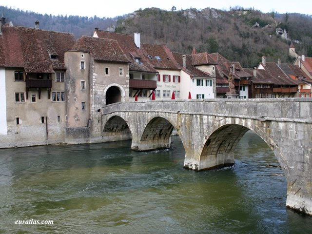 Click to download the The bridge of Saint-Ursanne