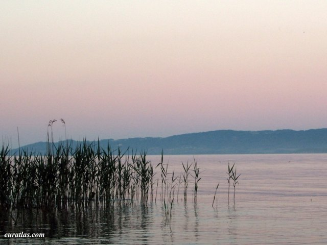 Click to download the The Lake Neuchâtel at Twilight
