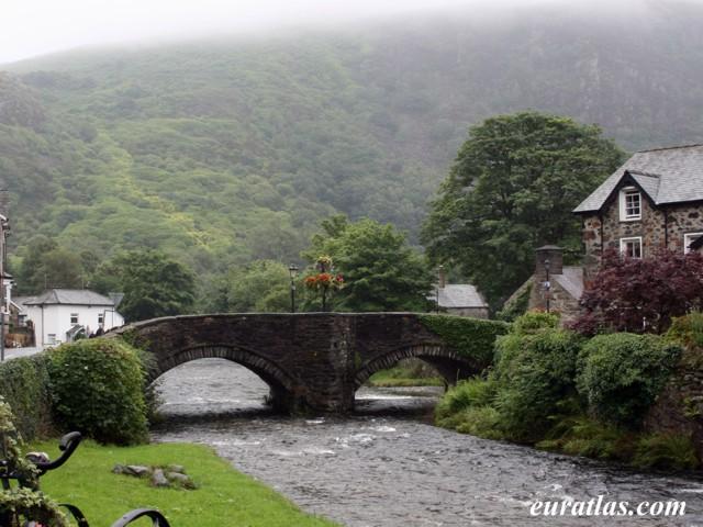 Click to download the The Beddgelert Bridge over River Colwyn