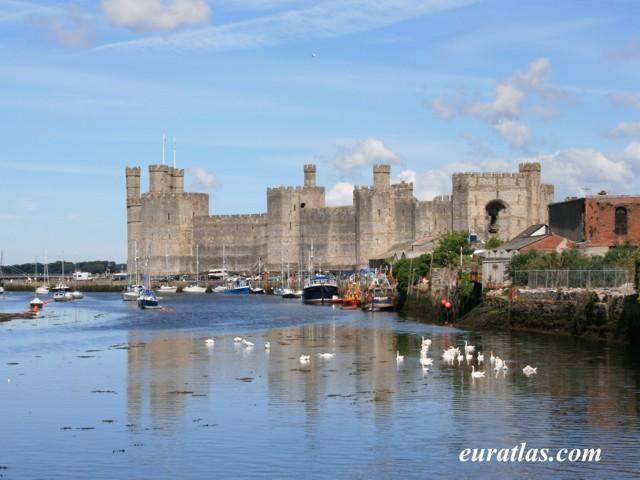 Cliquez ici pour télécharger Carnarfon Castle from