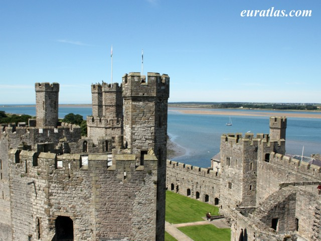 Click to download the Anglesey from Caernarfon Castle