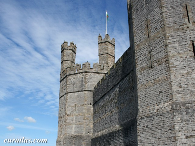 Click to download the Eagle Tower, Caernarfon Castle