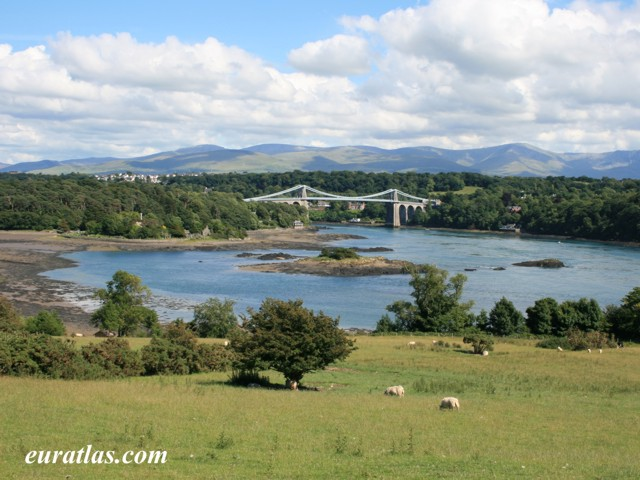 Click to download the Menai Suspension Bridge, 1826