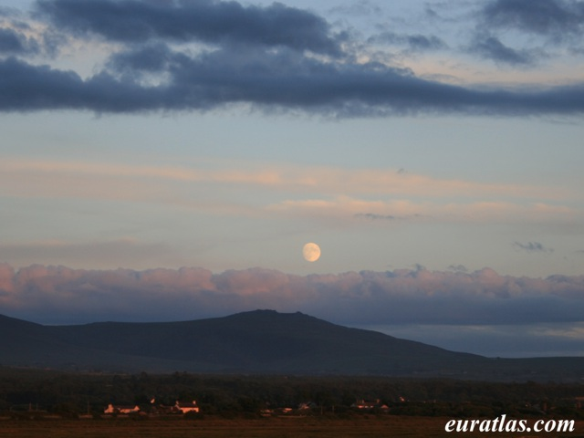 Click to download the The Moon over Snowdon