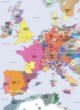Detailed Map of Europe 1300