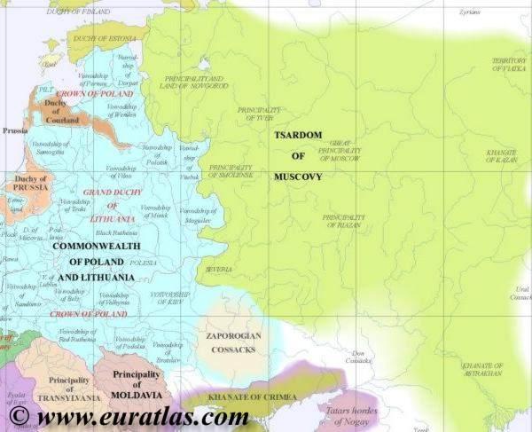 map northeast 1600