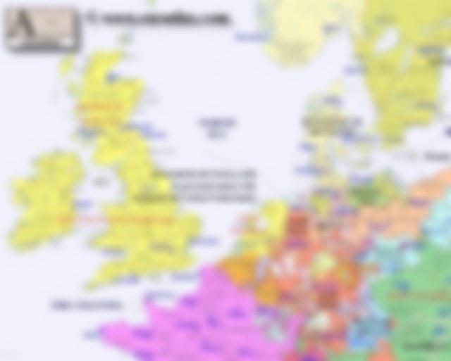 Europe Northwest 1700
