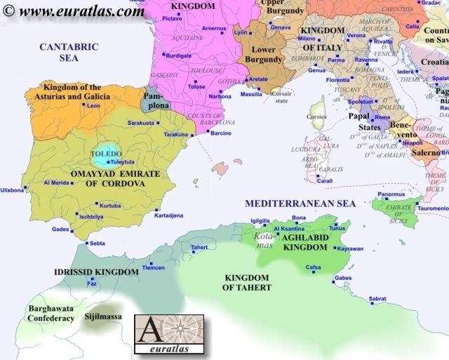 Europe Southwest 900