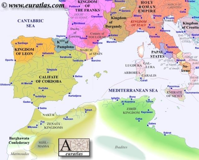 Europe Southwest 1000