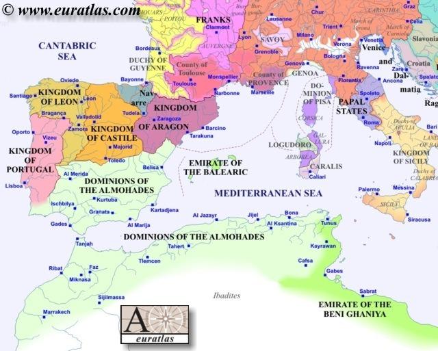 Europe Southwest 1200