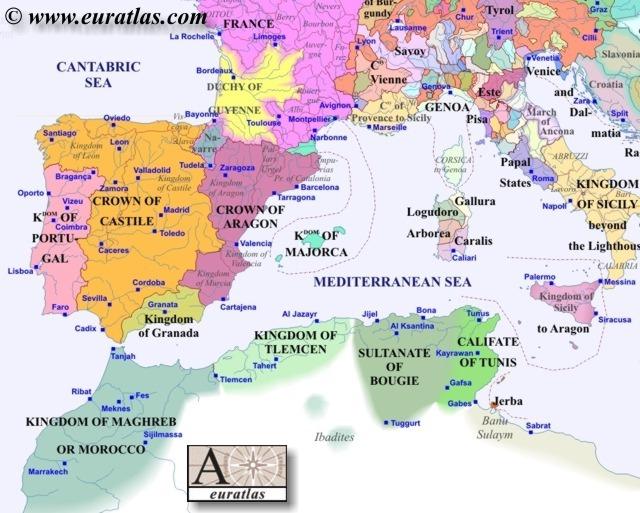 Europe Southwest 1300