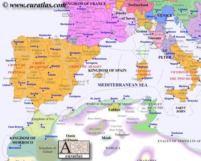Europe Southwest 1600